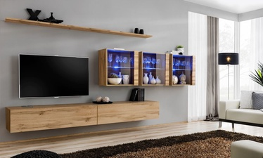ASM Switch XVII Wall Unit Wotan Oak