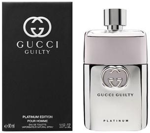 Gucci Guilty Platinum Pour Homme 90ml EDT