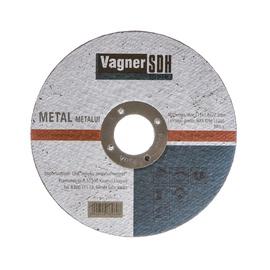 Lõikeketas Vagner 115x1.6x22,23, metallidele