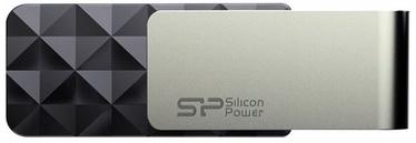 USB mälupulk Silicon Power Blaze B30 Black, USB 3.0, 64 GB