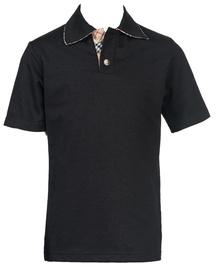 Bars Mens Polo Shirt Black 22 128cm