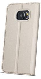 Blun Premium Matt Smart S-View Book Case For Samsung Galaxy A7 A750 Gold