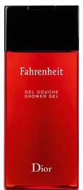 Гель для душа Christian Dior Fahrenheit, 200 мл