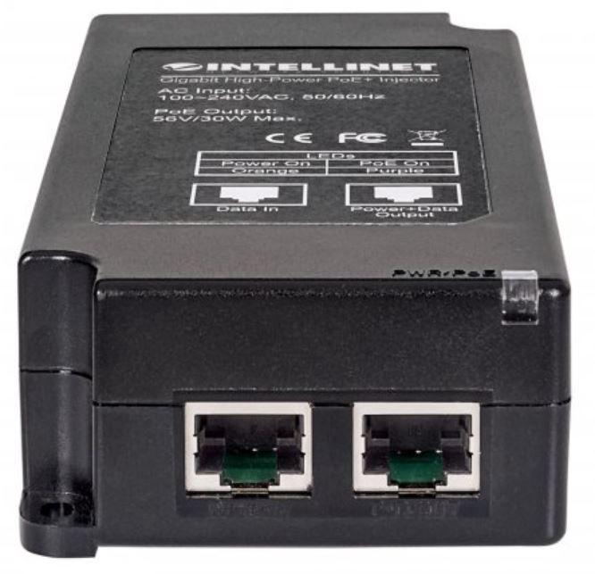 Intellinet Gigabit High-Power PoE+ Injector