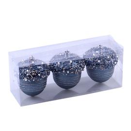 Jõulupuu ehe Christmas Touch SYQC-0119210 Blue, 3 tk