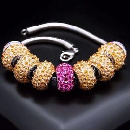 Diamond Sky Bracelet Becharmed Pavé IV With Swarovski Beads
