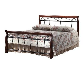 Кровать Signal Meble Venice Antique Cherry, 219x122 см, с решеткой