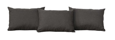 Black Red White Carbo Indiana/Malcolm Pillows Dark Brown