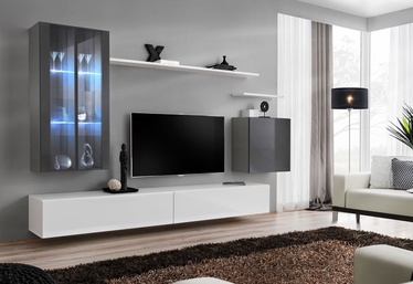 ASM Switch XII Wall Unit White/Graphite