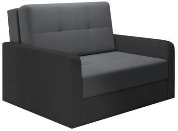 Диван-кровать Idzczak Meble Top 2 Bahama 34/36 Gray, 132 x 104 x 92 см