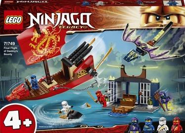 Konstruktor LEGO Ninjago Final Flight Of Destinys Bounty 71749, 147 tk