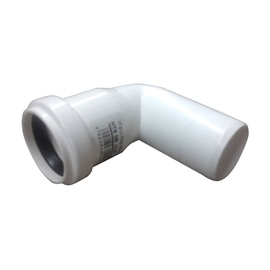 Wavin Elbow Pipe White 87° 40mm
