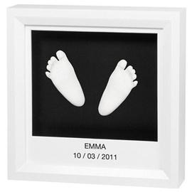 Baby Art Window Sculpture Frame Black/White