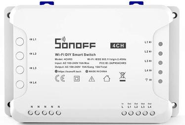 Sonoff 4CHR3 4-kanaliline WiFi Smart Switch, mida haldab APP või hääl
