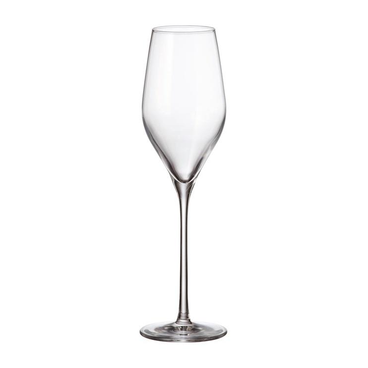 Klaaside komplekt vahuveinile AVILA 230ML 6tk (BOHEMIA ROYAL CRYSTAL)