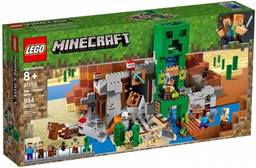 LEGO Minecraft The Creeper Mine 21155
