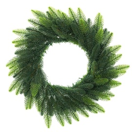 DecoKing Lux Christmas Wreath 50cm Shadow