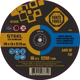 Отрезной диск FORTE TOOLS, 125X1.6X22