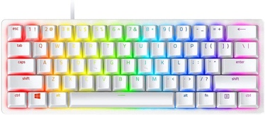 Mänguri klaviatuur Razer Huntsman Mini Razer Green Mercury White EN