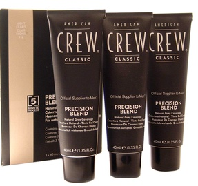 American Crew Precision Blend Hair Dyes 3x40ml 7-8Light