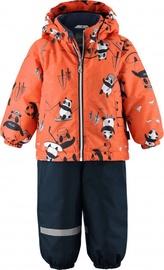Lassie Oivi Winter Set Orange 713732-2733 98