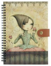 Santoro Mirabelle If Only Wiro-Bound Journal