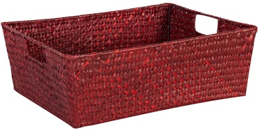 Home4you Basket Petra 1 40x31x14cm Red