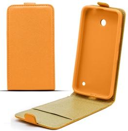 Telone Shine Pocket Slim Flip Case Samsung Core Plus Orange