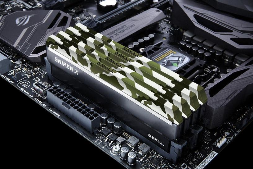 G.SKILL Sniper X Classic Camo 16GB 3000MHz CL6 DDR4 KIT OF 2 F4-3000C16D-16GSXFB