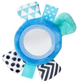 Погремушка Canpol Babies Rustling Plush Wrist Zig Zag Blue 68/056
