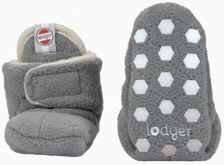 Lodger Fleece Booties BotAnimal Donkey 12-18m