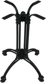 Evelekt Table 1 Leg Cafe Black