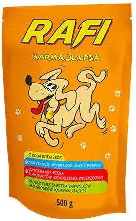 Rafi Dog Wet Food Beef 500g