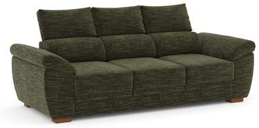 Diivanvoodi Home4you Argos 63956, roheline, 90 x 219 x 96 cm