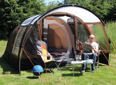 Telk EuroTrail Cambridge Air Tube 4 Brown