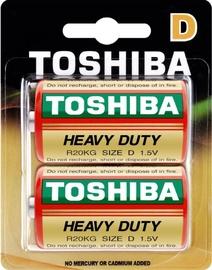 Toshiba Zn-C Battery R20 x 2