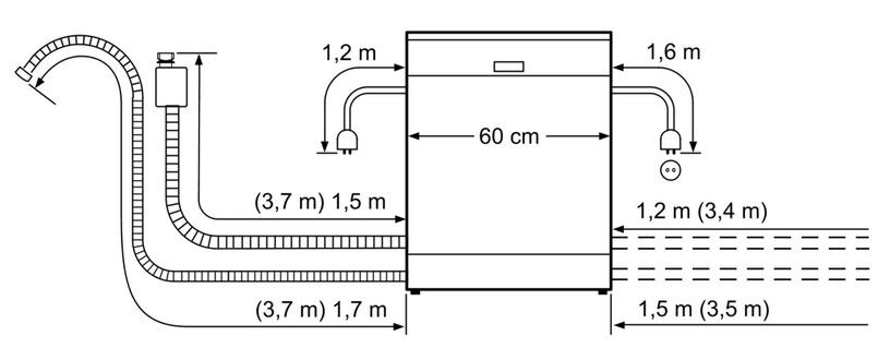Nõudepesumasin Bosch SMS46LI04E