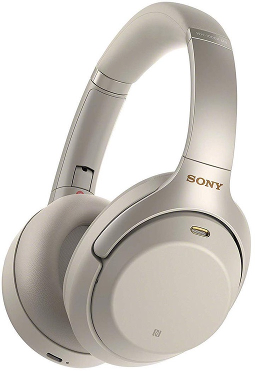 Sony WH-1000XM3 Bluetooth Headphones Silver