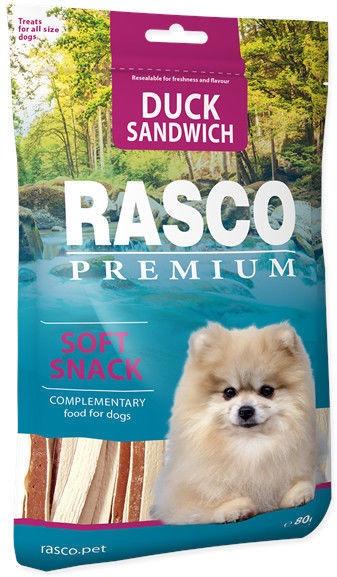 Rasco Dog Premium Snacks Duck Sandwich 80g