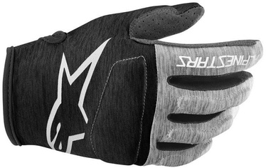 Alpinestars Youth Racer Gloves Grey Black M