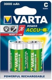 Varta Rechargaeble Battery C 2x 3000mAh