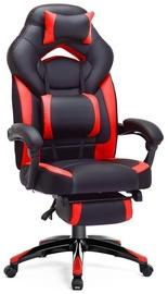 Игровое кресло Songmics, черный/красный