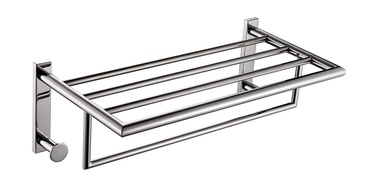 Gedy Double Shelf For Towels Chrome