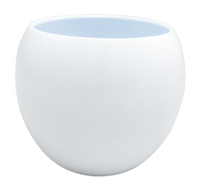 Lillepott Ball, valge 20x13 cm