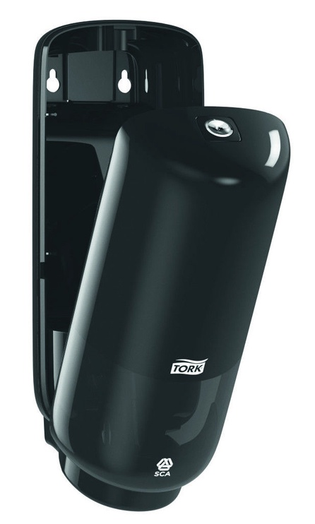 SCA Hygiene Products Tork Foam Soap Dispenser With Sensor S4 Black