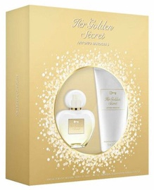 Antonio Banderas Her Golden Secret 50ml EDT + 75ml Body Lotion
