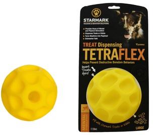 Starmark Treat Dispensing Tetraflex L Yellow