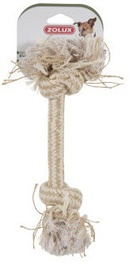 Zolux Plain 2-Knot Rope Toy 25cm