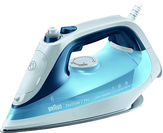 Triikraud Braun TexStyle 7 Pro steam iron SI 7062 Blue
