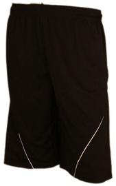 Bars Mens Football Shorts Black 186 M
